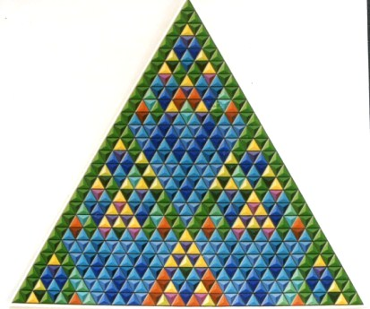 024 - Triangle of Pascal (Coefficient III) (Small size)  80x80[]